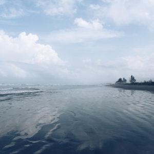 Ponta da Praia, uma das praias de Ilha Comprida